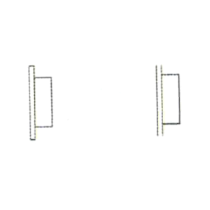 DELRIN TOP HAT BUSHINGS for Eyeglasses : 1.32mm X1.3mm 100pcs : Optical Products Online