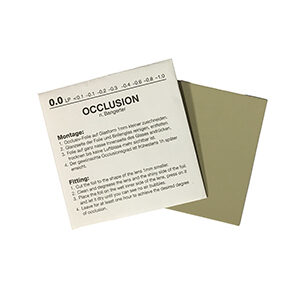 OCCLUSION FOIL 0.2 : Optical lab supplies : Optical Products Online