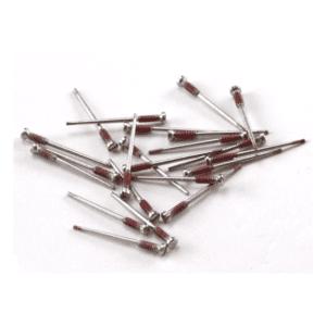 Easy Break Hinge Screw for Eyeglasses : 2.0mm X 1.4mm X 4.0mm (16.5mm Length) 50pcs : Optical Products Online