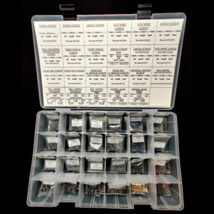 Deluxe Screw Kit for Eyeglasses - Optical Products Online