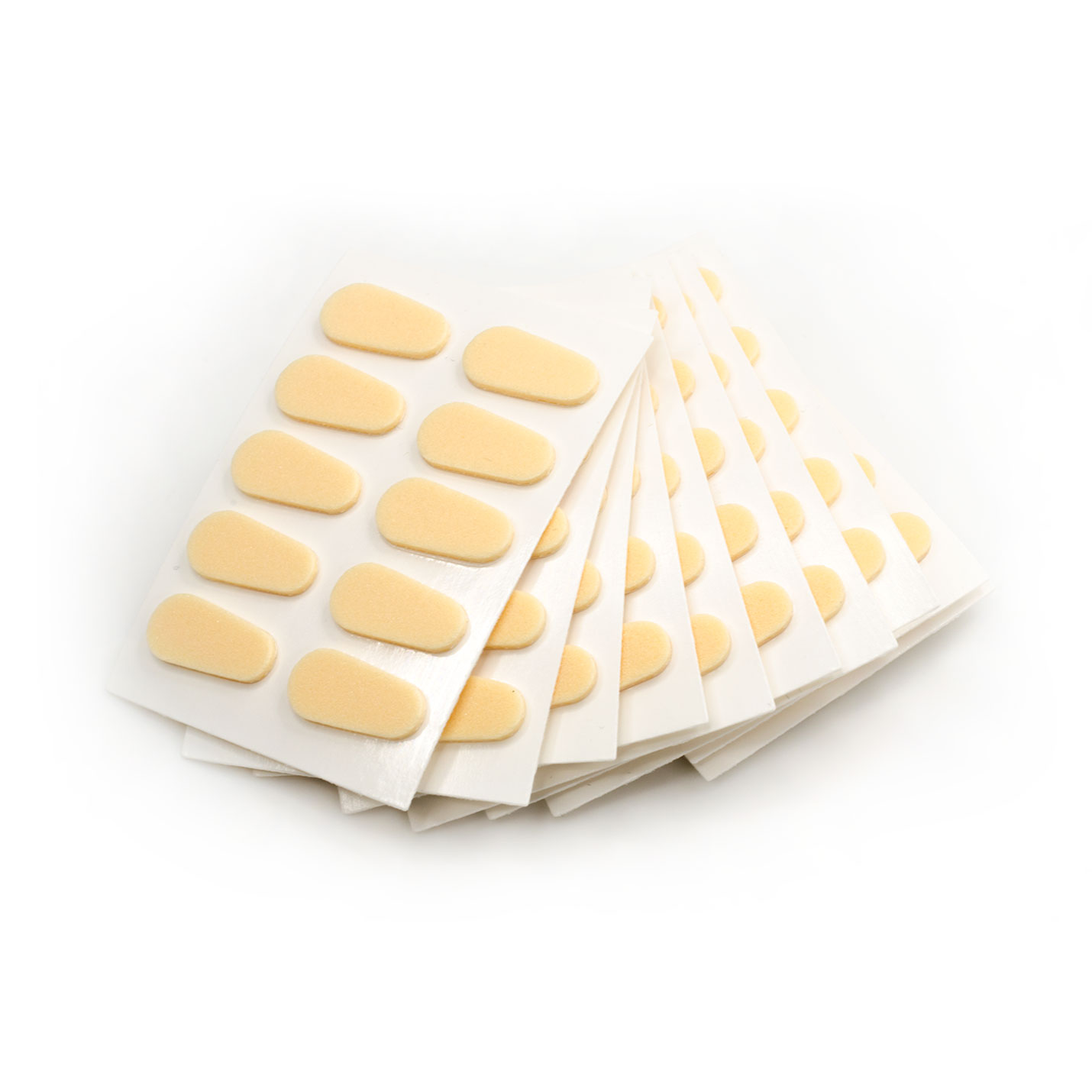 FMAD17 FOAM ADHESIVE NOSE PADS 17MM - OPTICAL PRODUCTS ONLINE